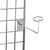 Gridwall hat stand for retail displays