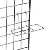 Gridwall Shoe Shelf