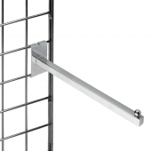 Gridwall Square Rail Arm with Ball End