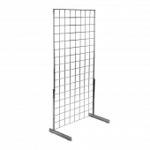 L shaped gridwall legs, ideal for displays stood against a wall