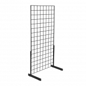Grid mesh panel legs provide stability for your displays