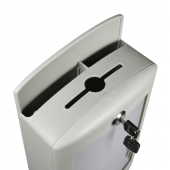 Grey Suggestion Box with Lock