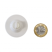 Round Ceiling Hanger Buttons size