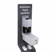 Refillable Touch Free Hand Sanitiser Dispenser Stand