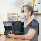 FFP2 Respirator Mask sold in 5 packs or 50 packs