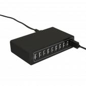 LED Menu Cover USB Charging Station