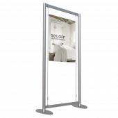 Window Display Poster Kit Free Standing 1 x A1