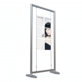 Window Display Poster Kit Free Standing 6 x A4