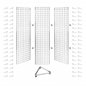 Three Sided Gridwall Stand 6ft