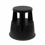 Kick Step Stool in black