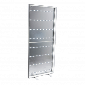 LED Poster Light Box Display Stand interior
