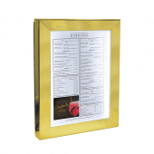 LED illumination makes your menu stand out after dark