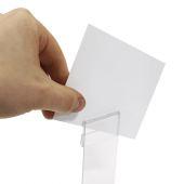 The grip can hold cards up to 1mm thick