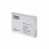 Our Magnetic Photo Block is an acrylic photo block with magnetic fixings