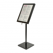 LED Menu Display Stand for use with 4 x A4 Sheets