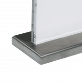 Metal Base Poster Holder for Countertops