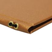 Copper menu cover