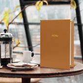 Menu folders for restaurants