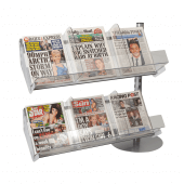 Newspaper Merchandising Queue System Extension Kit