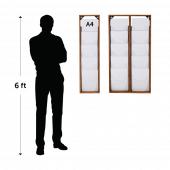 Wooden magazine rack dimensions