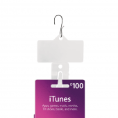 Plastic Clip Strips x 100 (hook supplied separately)