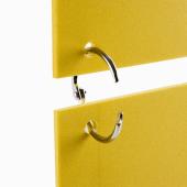 Metal Split Rings with snap lock mechanism
