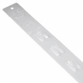 Plastic Hang Strips x 100