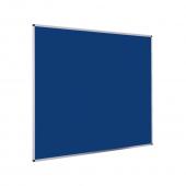 Aluminium Felt Notice Board - Blue