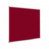 Aluminium Felt Notice Board - Red