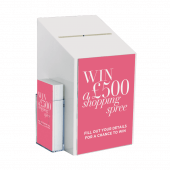 Suggestion Box with A4 Poster Holder
