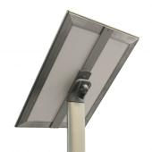 Adjustable orientation sign holder stand