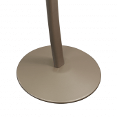 Curved signage stand with sturdy base (Earth)