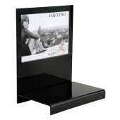 Black countertop display units