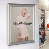 A4 snap poster frames for retail POS