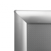 A4 Snap Frame Silver with mitred corners for stylish A4 poster displays