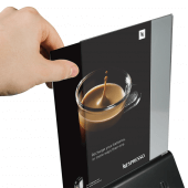 Black Power Bank Menu Holder