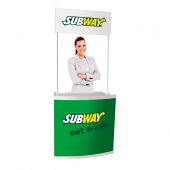 Our Promotional Counter is available with or without your custom branding
