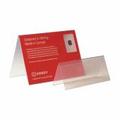 PVC Tent Card Holder