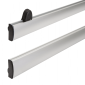 Aluminium Poster Hanging rails