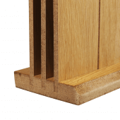 Double tier menu holder, ideal for holding menus of varying sizes
