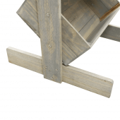 Sturdy wooden construction display crates