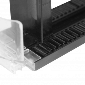 Shelf rollers for shelf management and product organisation
