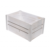 White Wooden Display Crate Set