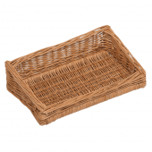 Sloping Wicker Display Basket