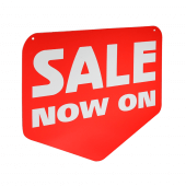 Sale Arrow Hanging Sign
