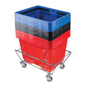 Shopping Basket Stacker Stand