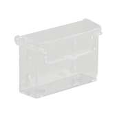 Plastic outdoor business card holders