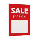 Sale Sign Insert