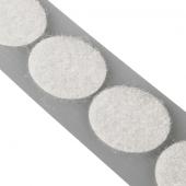 White Loop Fasteners 21mm