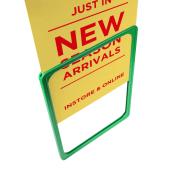 Plastic show card frames